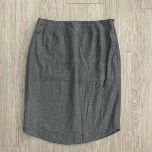 Hugo Boss US 4 Skirt Pencil Straight Rounded Hem